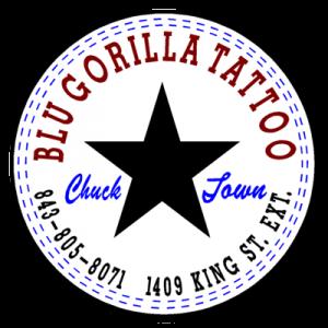 Blu Gorilla Charleston S First Tattoo Shop